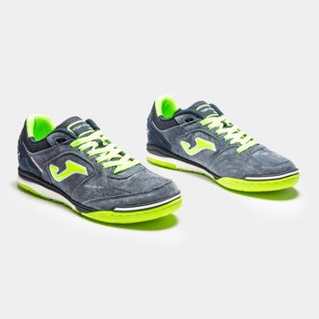 ФУТЗАЛЬНЫЕ БАМПЫ JOMA - TOP FLEX NOBUCK 823 NAVY INDOOR