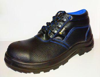 купить Ботинки рабочие SGS черные с синей строчкой в Кишинёве