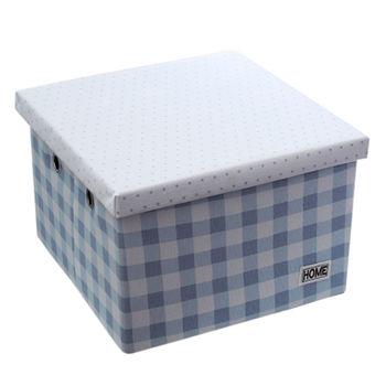 cumpără Cutie cu capac 320x320x220 mm, albastru în Chișinău