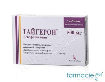 купить Tigeron® comp. film. 500 mg N5 в Кишинёве