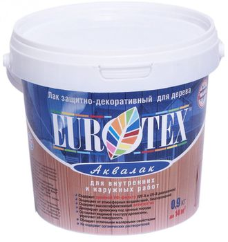 Eurotex Лак Eurotex Аквалак Палисандр 0.9кг