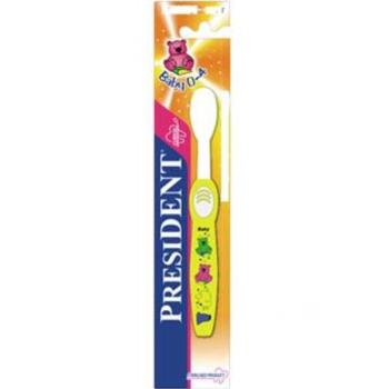 купить President зубная щетка для малышей Soft, 0-4лет в Кишинёве