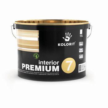 Kolorit Латексная краска Premium Interior 7 A Матовая 10л