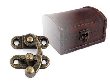 Închizătoare metalică cutie / geantă, nichel