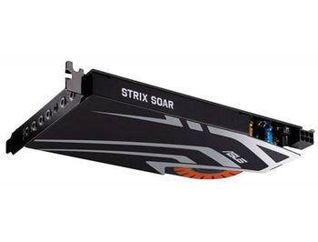 ASUS STRIX SOAR 7.1 PCIe gaming sound card with an audiophile-grade DAC and 116dB SNR, PCI Express, Retail (placa de sunet interna/внутренняя звуковая карта)