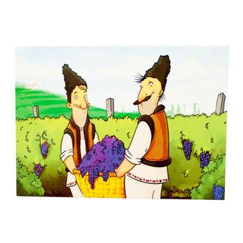 купить Почтовая Открытка – Уборка винограда в Кишинёве