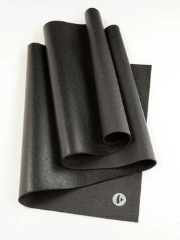 Mat pentru yoga Bodhi Rishikesh Premium 80 XL  black  -4.5mm