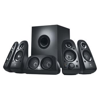 Logitech Z506 Speaker System 5.1 (RMS 75W, 27W subwoofer, 4x8W satel, center 16W), Black