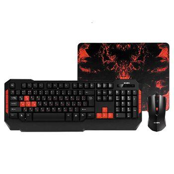 SVEN GS-9200 Gaming Set, Keyboard+Mous, USB, Black