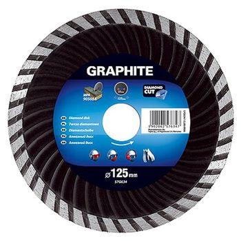 Graphite Диск отрезной алмазный 180мм 57H636