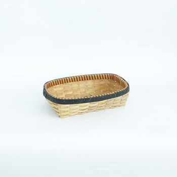 купить Корзина из деревянной стружке и ободком из картона 490х350х110 мм в Кишинёве