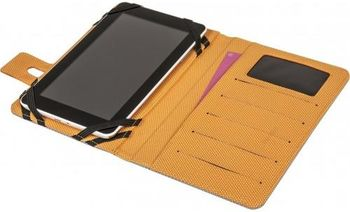 """купить Сумка/чехол для планшета Defender 10.1"""" Favo (Grey-Orange) (26062) в Кишинёве"""