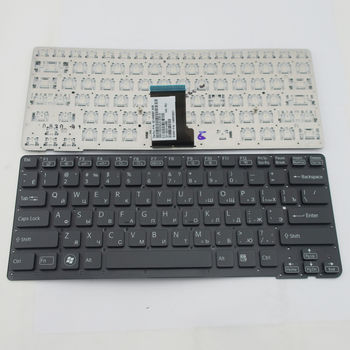 "Keyboard Sony VPCCA w/o frame ""ENTER""-small ENG/RU Black"