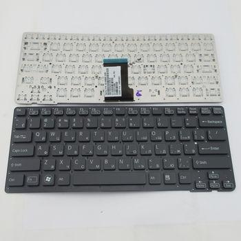 """Keyboard Sony VPCCA w/o frame """"ENTER""""-small ENG/RU Black"""