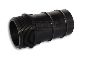 """купить Коннектор для шланга 1 1/2""""П х 50мм (черный) M Art 15010-7-F в Кишинёве"""