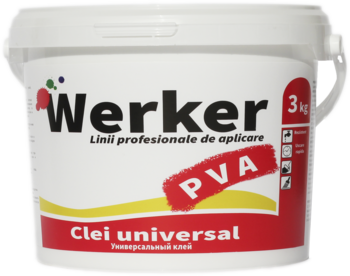 Клей PVA Werker 3 кг