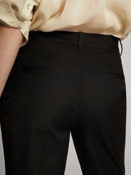 Брюки Massimo Dutti Чёрный 5017/577/800