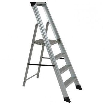 купить Лестница односторонняя SHRP 804 алюминиевая, 850 мм в Кишинёве