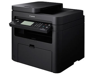 Canon i-Sensys MF237w Mono Printer/Copier/Color Scanner/Fax, A4, ADF(35-sheets), WiFi, Network Card, 1200x1200 dpi with IR (600x600dpi), 23 ppm, 256Mb, USB 2.0, Cartridge 737 (2400 pages 5%) (imprimanta/принтер MF 237w) www