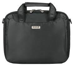"PORT NetBags Line/NYLON GREY 7/11.6"" Bag-bag for 7-12 netbooks-reinforced laptop compartment-pocket for accessories-strap transport-2 handles transportation-trolley strap-pockets"