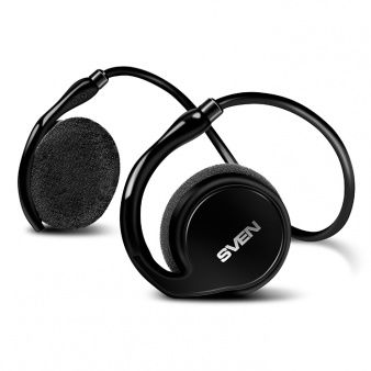 SVEN AP-B250MV, Bluetooth Headphones with microphone, Bluetooth v.4.1, operation time with battery up to 11 hours, range of action up to 10 m, track switching control possibility, Wired / wireless audio signal transmission Black