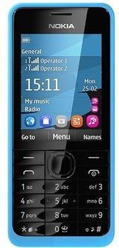 Nokia 301 Cyan