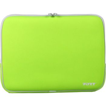 "PORT Skin Line/MIAMI SKIN GREEN/15.4"" Skin-neopren skin protection for notebook-without, Back pocket"