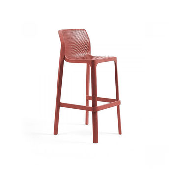 Стул барный Nardi NET STOOL CORALLO 40355.75.000 (Стул барный для сада и террасы)