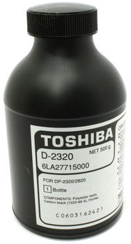 Developer Toshiba D-2320 (500g/appr. 90 000 pages 6%) for e-STUDIO 18/181/223/243/195