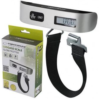 Esperanza ETS002 Digital travel luggage scale globetrotter, Max. capacity: 50kg (Весы)