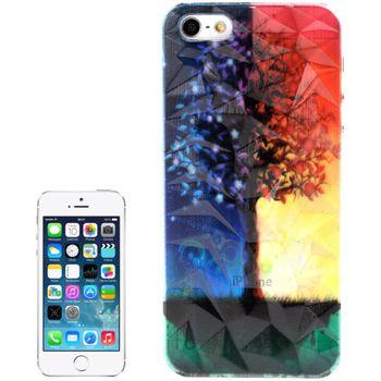 Чехол для iPhone 5 / 5S 3D Diamond Series День-Ночь