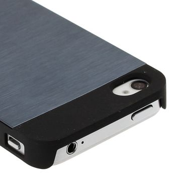 "Чехол ""MOTOMO"" серый для iPhone 4 / 4S"