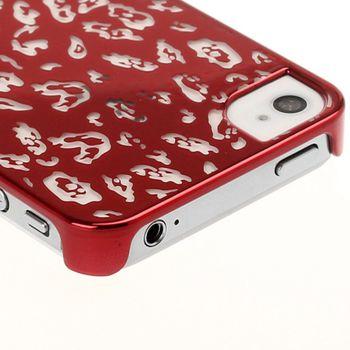 Чехол Anrut Mottle Pattern красный для iPhone 4 / 4S