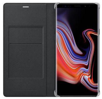 cumpără Husă telefon Samsung EF-WN960, Galaxy Note 9, Leather Wallet Cover, Black în Chișinău