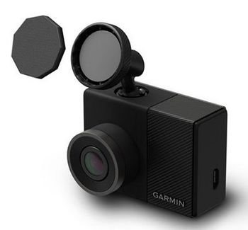 """Garmin DashCAM 55 Full HD vehicle recorder, 3.0"""" Display, FHD@30fps, GPS, Micro SD up to 32GB, Incident Detection sensor automatically saves footage of collisions and incidents"""