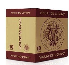 """Vinuri de Comrat Bag-in-Box """"Cabernet Sauvignon Feteasca Neagră""""  sec roșu,  10 L"""