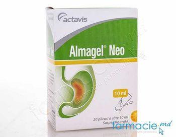 cumpără Almagel Neo susp. orala 10 ml N20 în Chișinău
