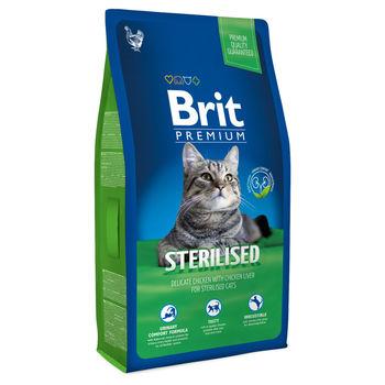купить Brit Premium Cat Sterilised(КОРМ ПРЕМИУМ-КЛАССА ДЛЯ КАСТРИРОВАННЫХ КОТОВ И СТЕРИЛИЗОВАННЫХ КОШЕК) в Кишинёве