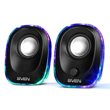 """купить Speakers  SVEN """"330"""" Black, 5w, USB power в Кишинёве"""