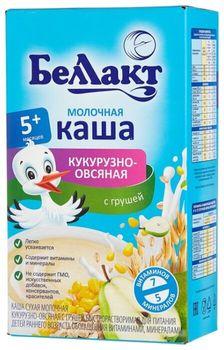 cumpără Bellact Terci cereale de porumb, ovăz cu pere și cu lapte 250g în Chișinău