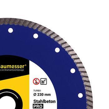 купить 1A1R Turbo 125x2,2x8x22,23 Baumesser Stahlbeton PRO в Кишинёве