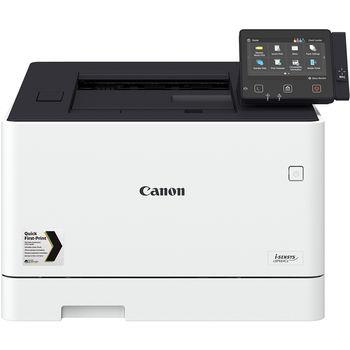 Printer Color Canon i-Sensys LBP-664CX, Duplex,Net, WiFi, A4,27ppm,1GB, 1200x1200dpi, 250+50 sheet tray, LCD CTScreen,UFRII,PCL5c*,PCL6,Adobe® PostScript, Max.50k pages per month,Cart 055HBk & 055Bk (6300/2300ppm) & 055HC/M/Y & 055C/M/Y(5900/2100ppm)