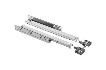 Glisieră Modern Slide L-500 deschidere totală cu amortizor