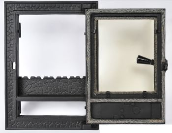 Дверца чугунная со стеклом Weekend - Olimpic mic