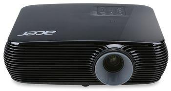 ACER X1326WH (MR.JP911.001) DLP 3D, WXGA, 1280x800, 20000:1, 4000Lm, 10000hrs (Eco), 2*HDMI (MHL), 2*VGA, Wi-Fi (optional with UWA3), 3W Mono Speaker, Black, 2,6kg