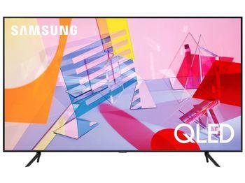 """50"""" LED TV Samsung QE50Q60AAUXUA, Black"""