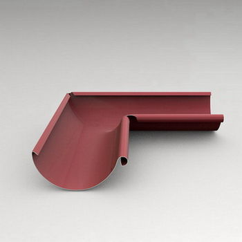 купить Угловой стык внутренний  90º (125 mm) RAL-3005 в Кишинёве