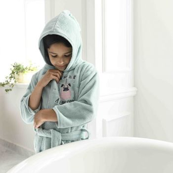 купить Банный халат  La Millou Braveheart Lion / Grey L в Кишинёве