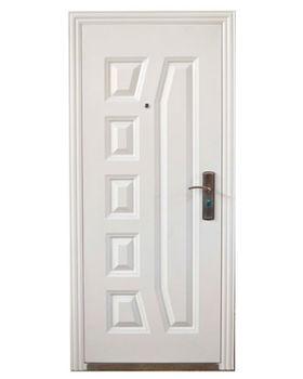 Дверь металлическая TPC 28B 860x2050x70 мм белая