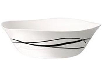 Салатница Bormioli Flow Black 15.5X15.5cm